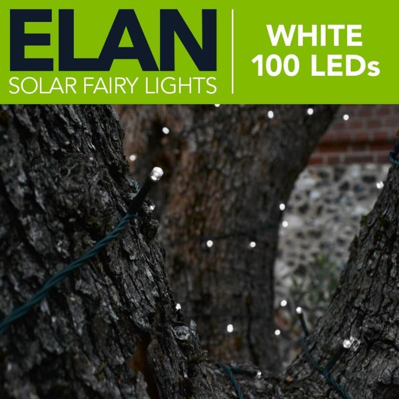 Elan Solcelle lyskæde (100/200LED, Hvid)