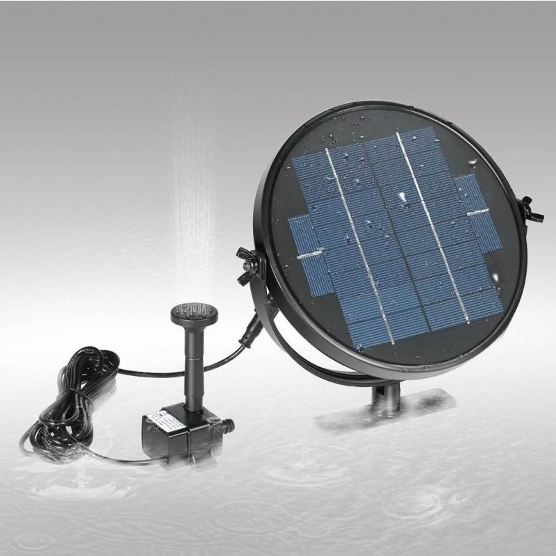 Udendørs springvand med solceller (3W)