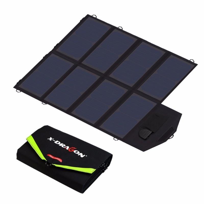 40W solcelleoplader til bærbar/tablet/smartphone fra ALLPOWERS