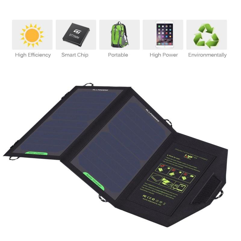 10W solcellepanel