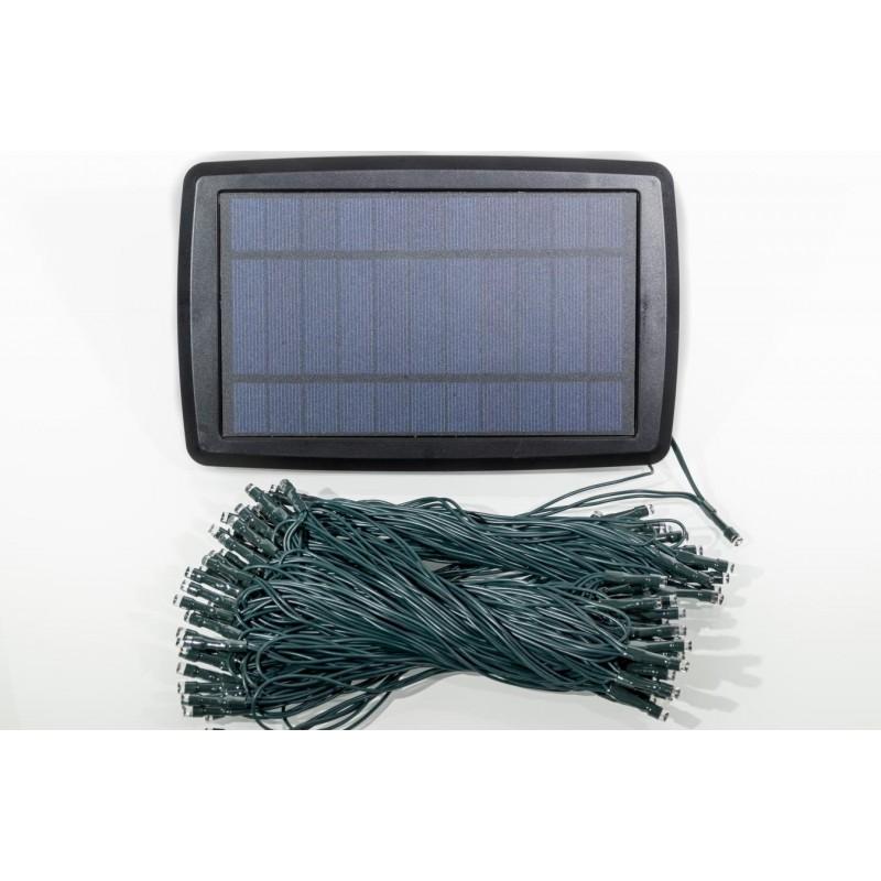 Aurora PRO solcelle lyskæde (100 LED, flerfarvet)