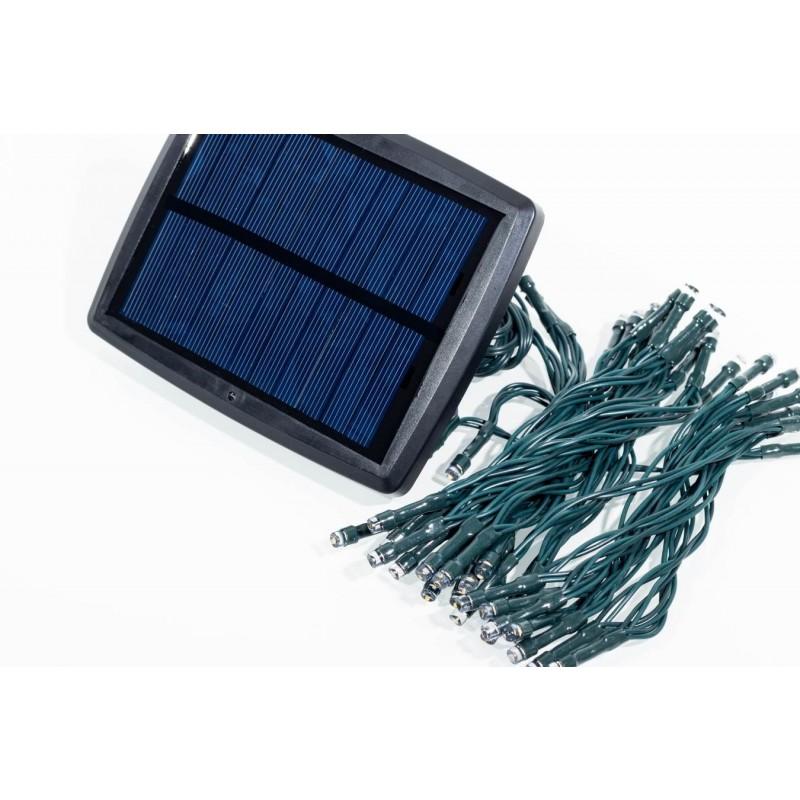 Aurora solcelle lyskæde (50 LED, hvid)