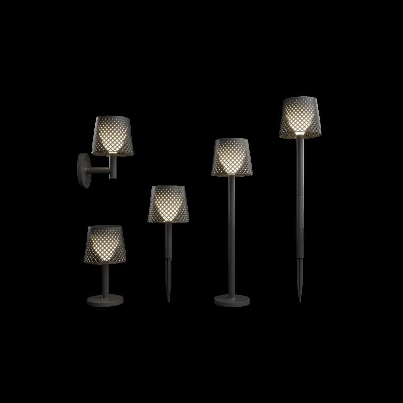 Greta 5-i-en solcelle lampe