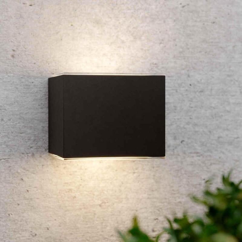 Avon solcelle væglampe (antracit)
