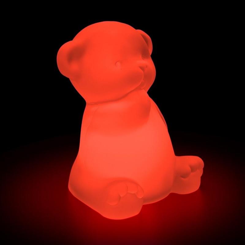 Formlampe på solceller (Teddybjørn)
