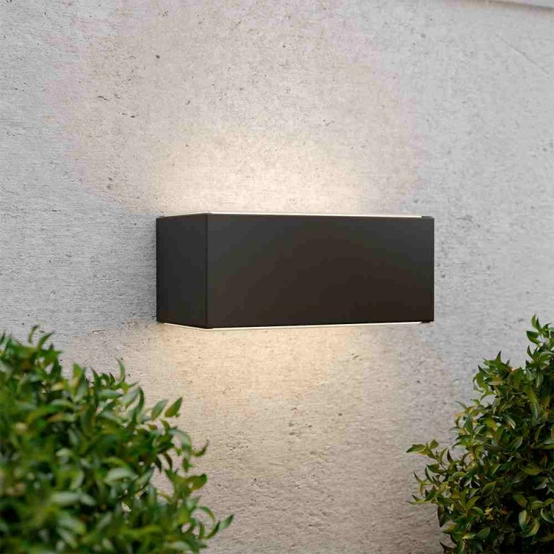 Chelsea solcelle væglampe (antracit)