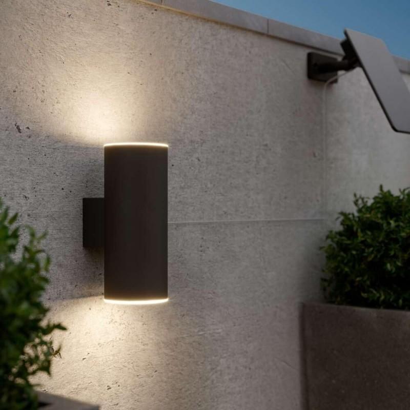 Chester væglampe (antracit, 100 lumens)