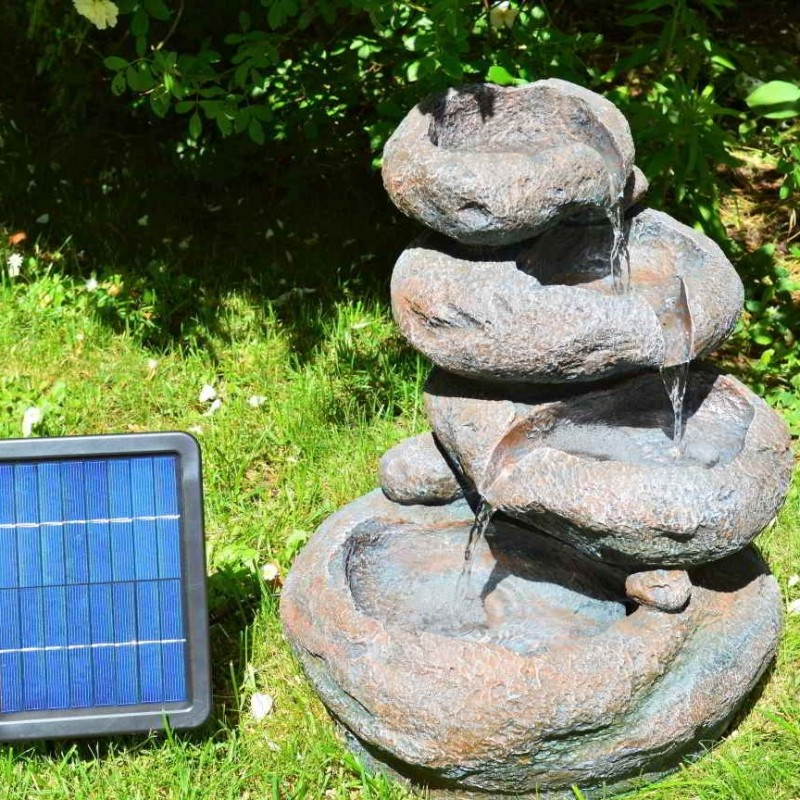 Solcelle fontæne