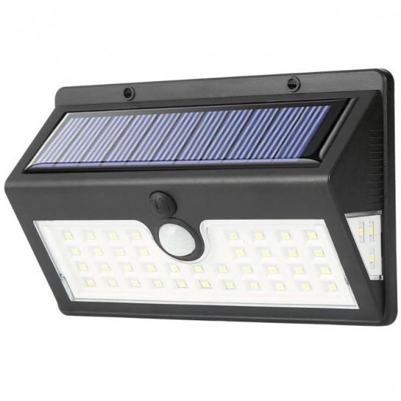 Eco Solar Pro solcelle væglampe med sensor