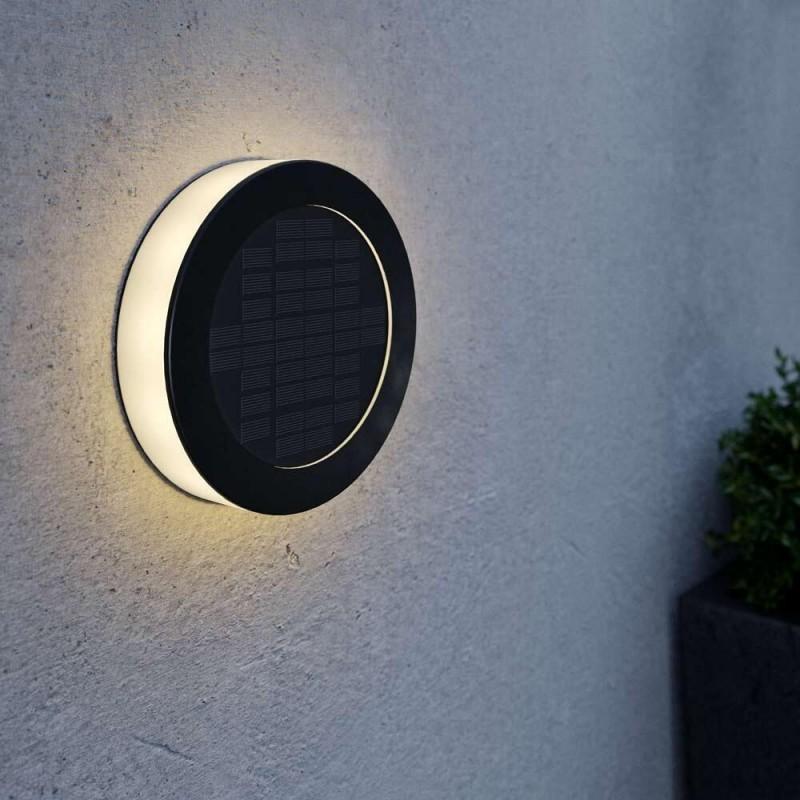 Eco Disc solcelle væglampe