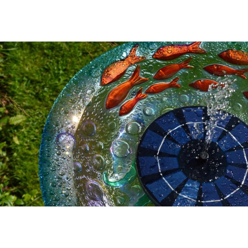 Flydende springvand