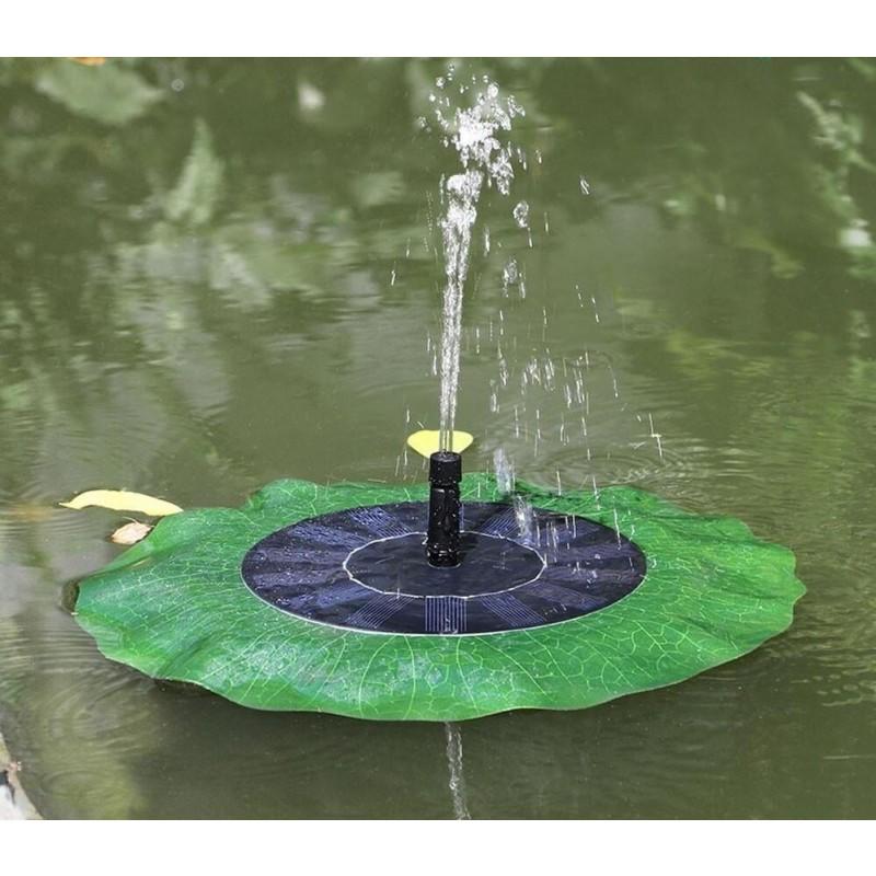 flydende solcelle springvand åkande