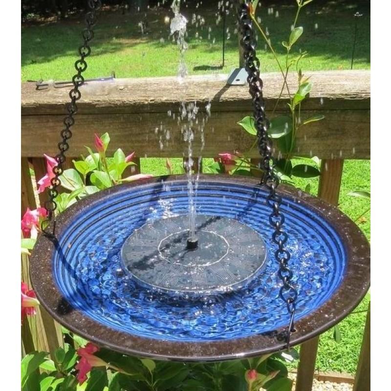 flydende solcelle springvand
