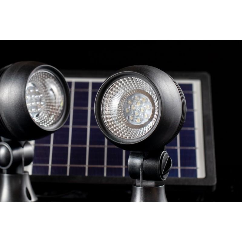 Globe solcelle spots