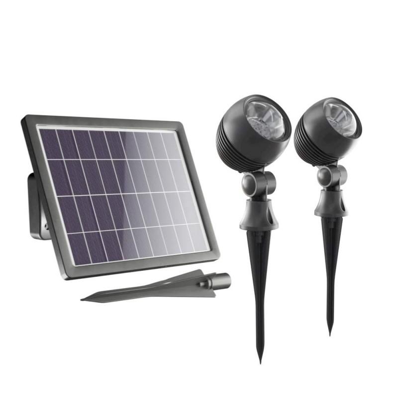 Globe Solcelle Spotlights (sæt af 2)
