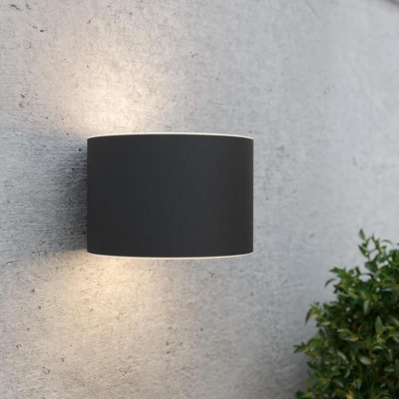Gloucester solcelle væglampe (antracit)