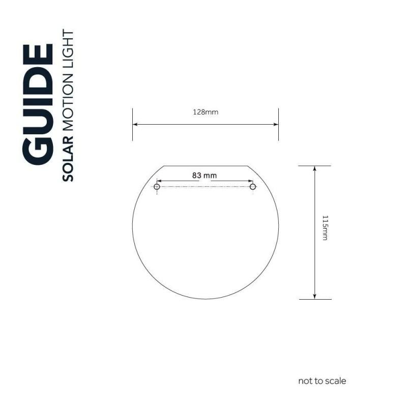 Guide Solcelle Sensorlampe