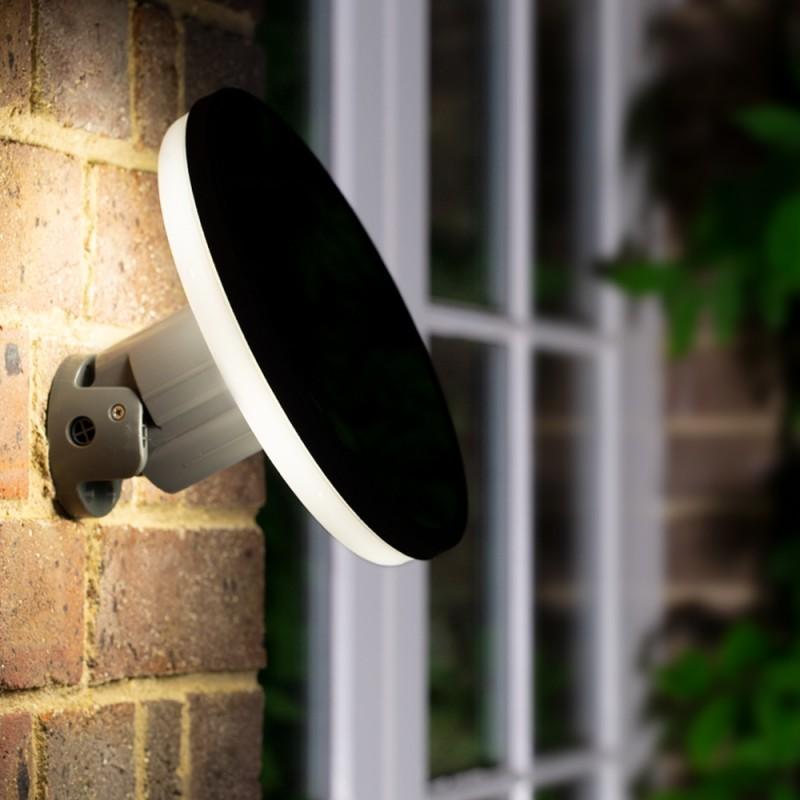 Halo solcelle væglampe (150lm)
