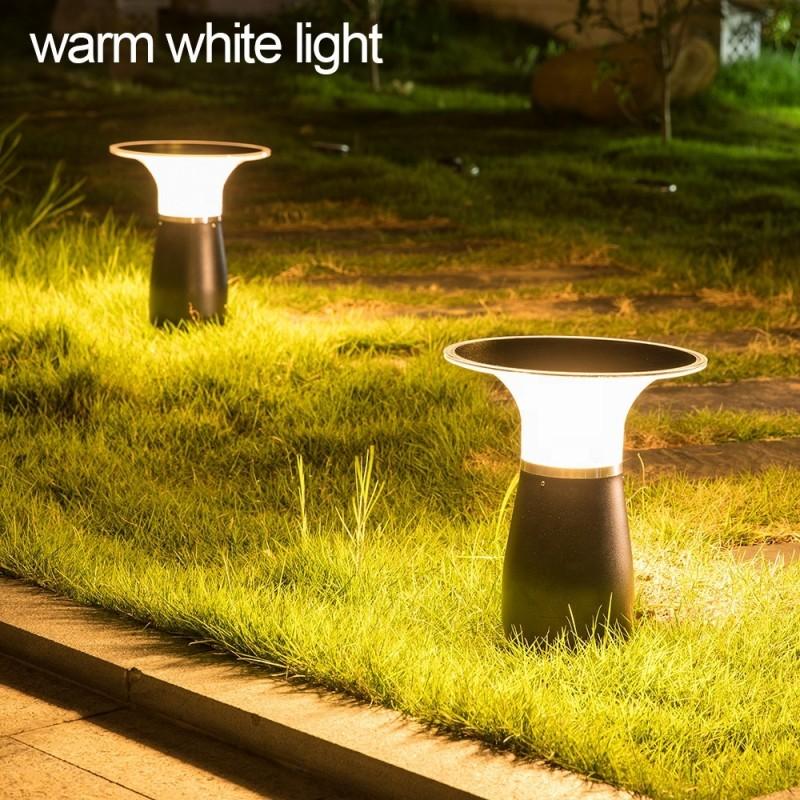 Helios Mushroom solcellelampe