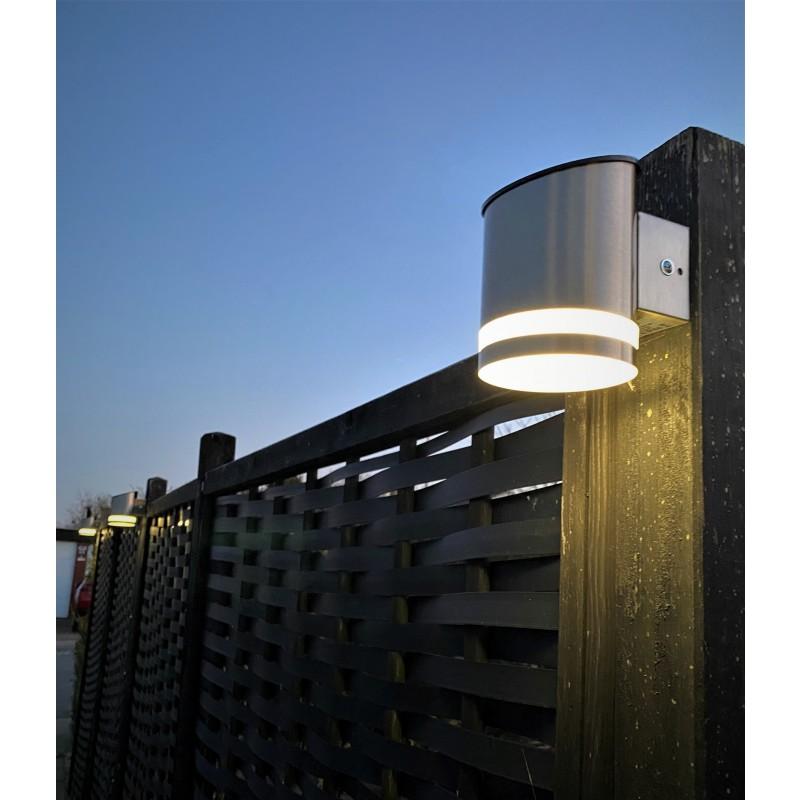 Truro ST solcelle væglampe