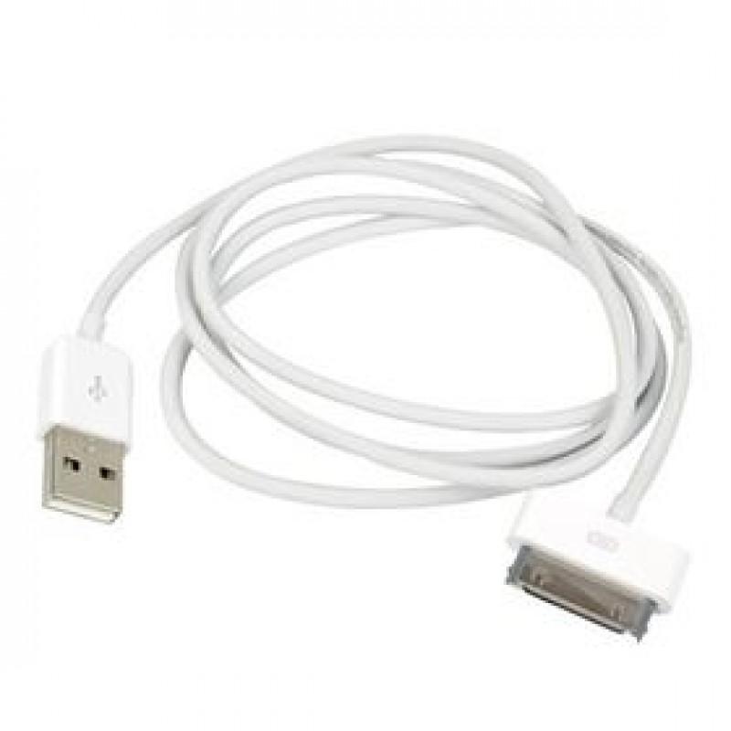 1m. Apple 30-bens DATA-kabel