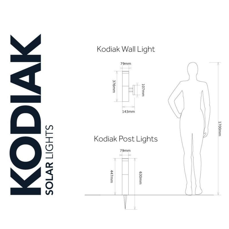 Kodiak solcellelampe
