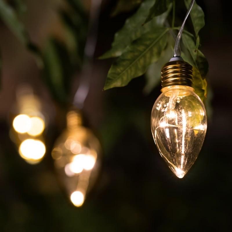 Lumify Candle Bulb solcelle lyskæde (20 pærer)