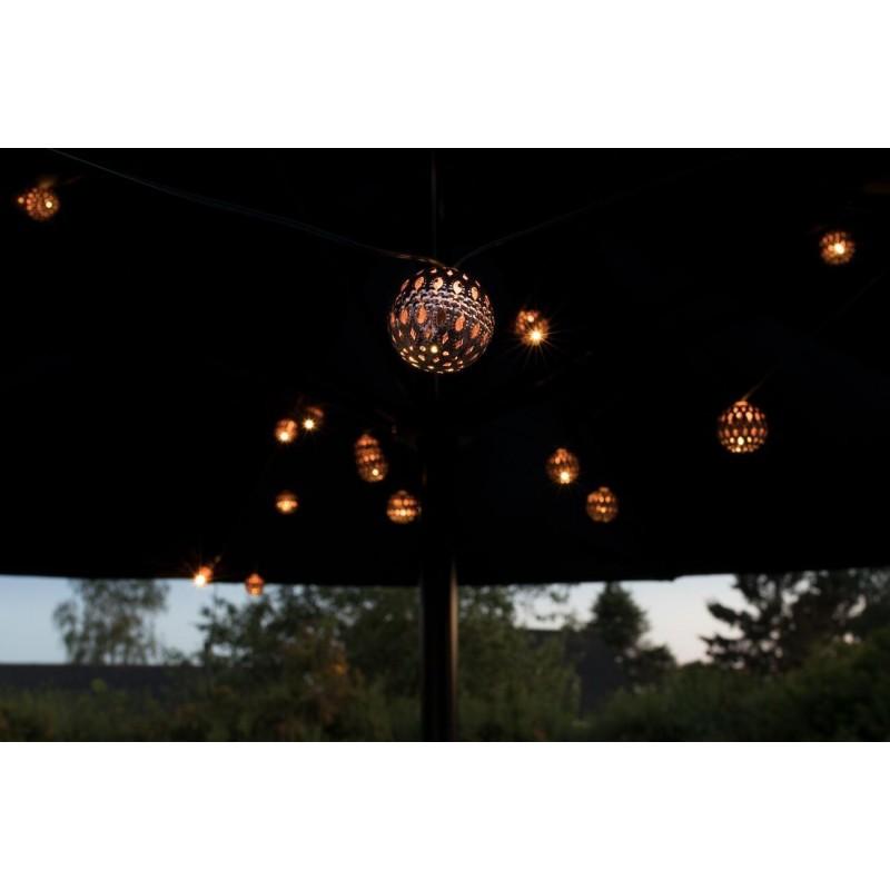 ELAN Solcelle Kobber Lanterner (20LED, Varm Hvid)-08