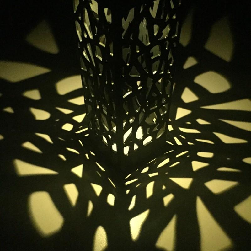 Solcelle bordlampe