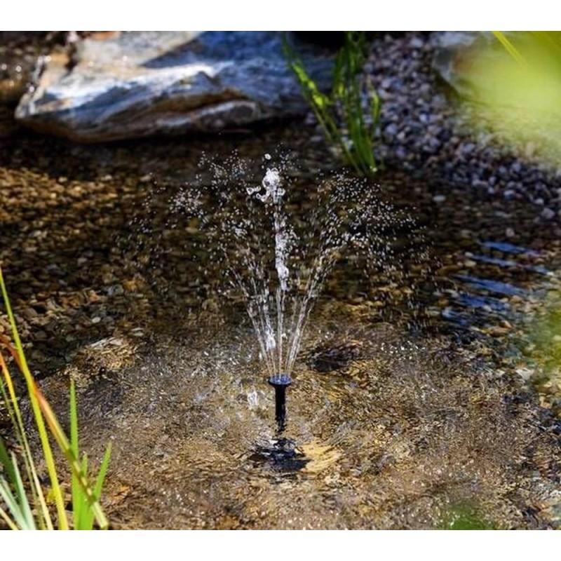 Lille springvand med solceller(1,5W)