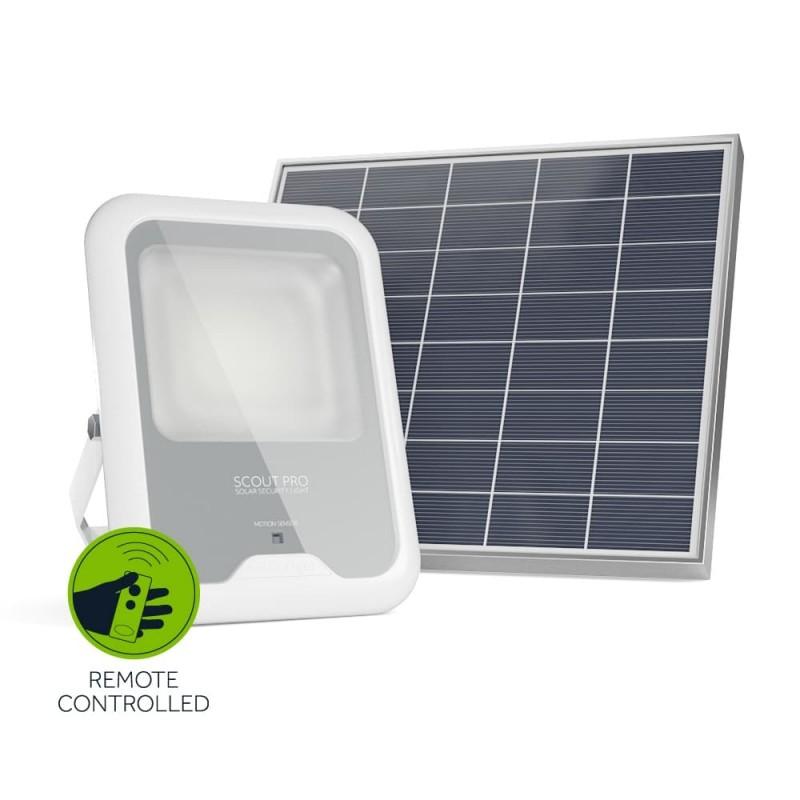 Scout Pro solcelle projektør (600 lumen)