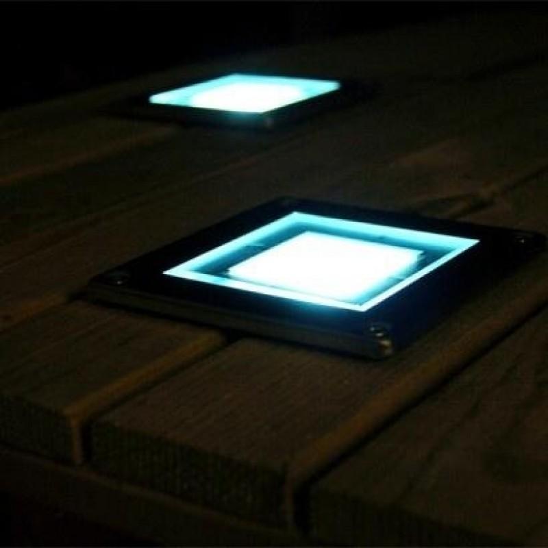 kvadratiske solcellelamper - Decking Lights