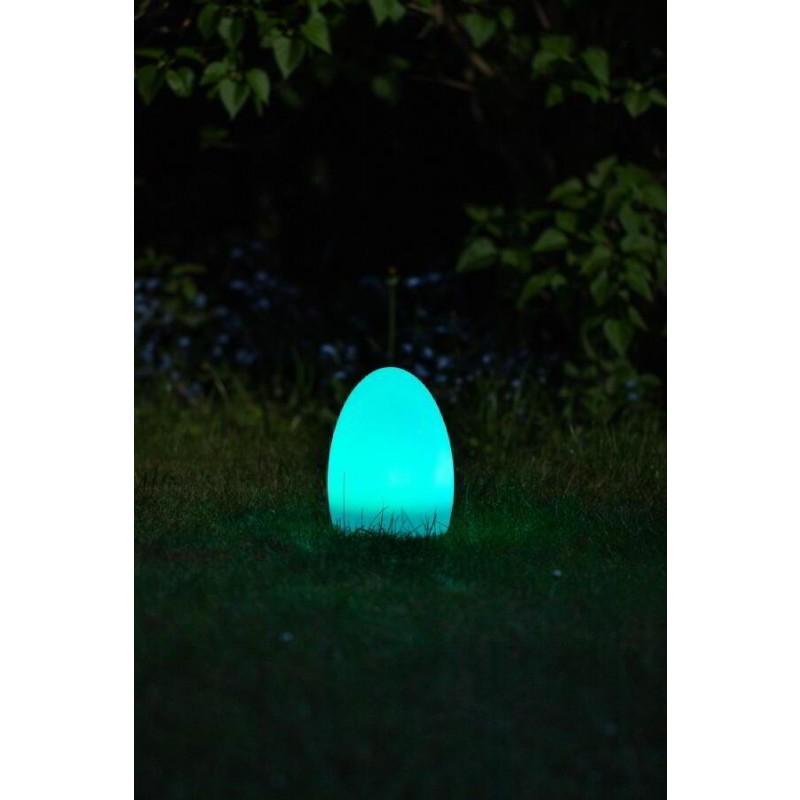 formlampe solcelle æg