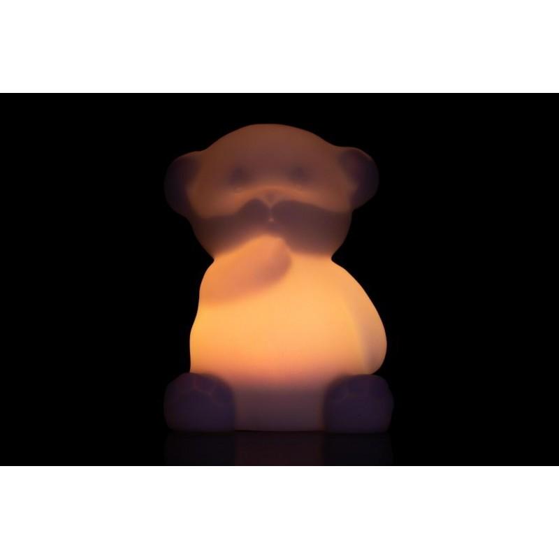 formlampe solcelle bjørn