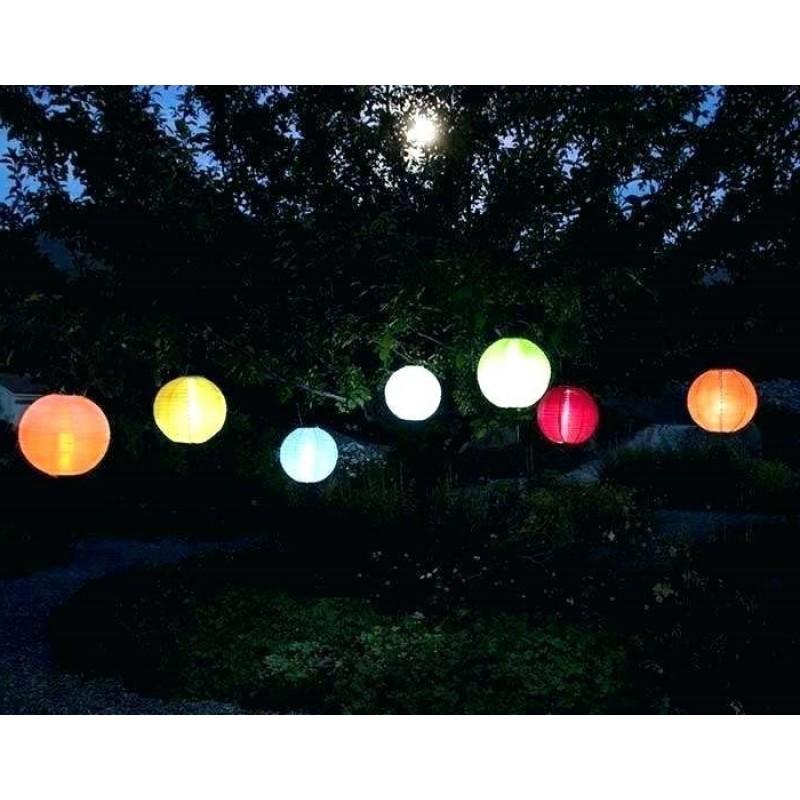 solcelle lanterner