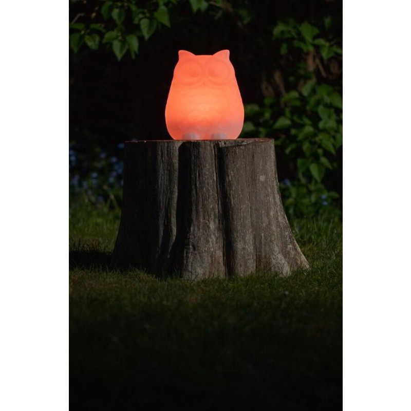 formlampe solcelle ugle