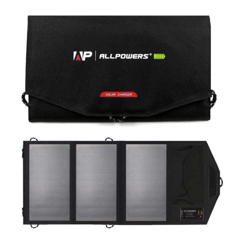 15W 6000mah solcelleoplader