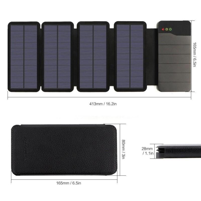 solcelle powerbank 6W 10000mah