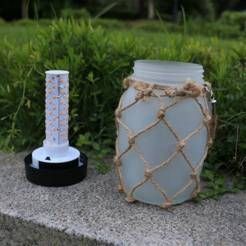 Sun Jar solcellelampe