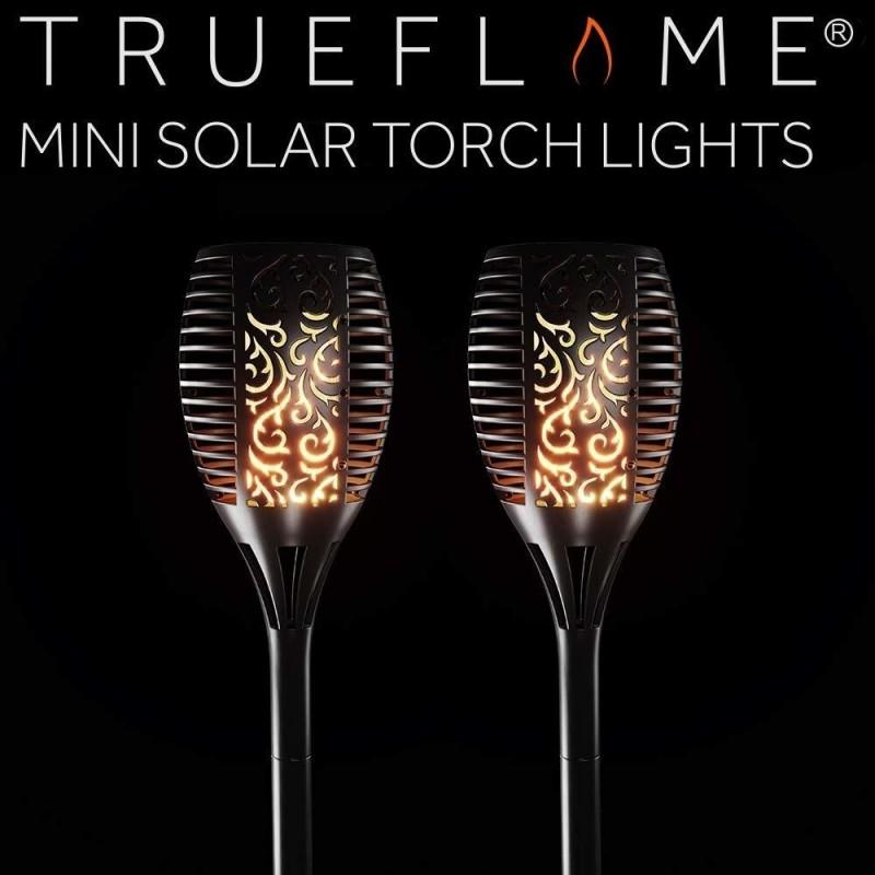 Trueflame Small solcelle fakler (sæt af 2)