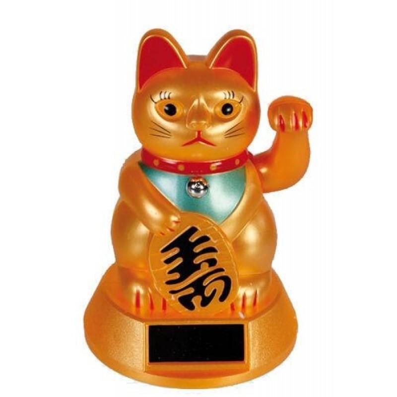 Lykkebringende vinke-kat (Maneki-neko)