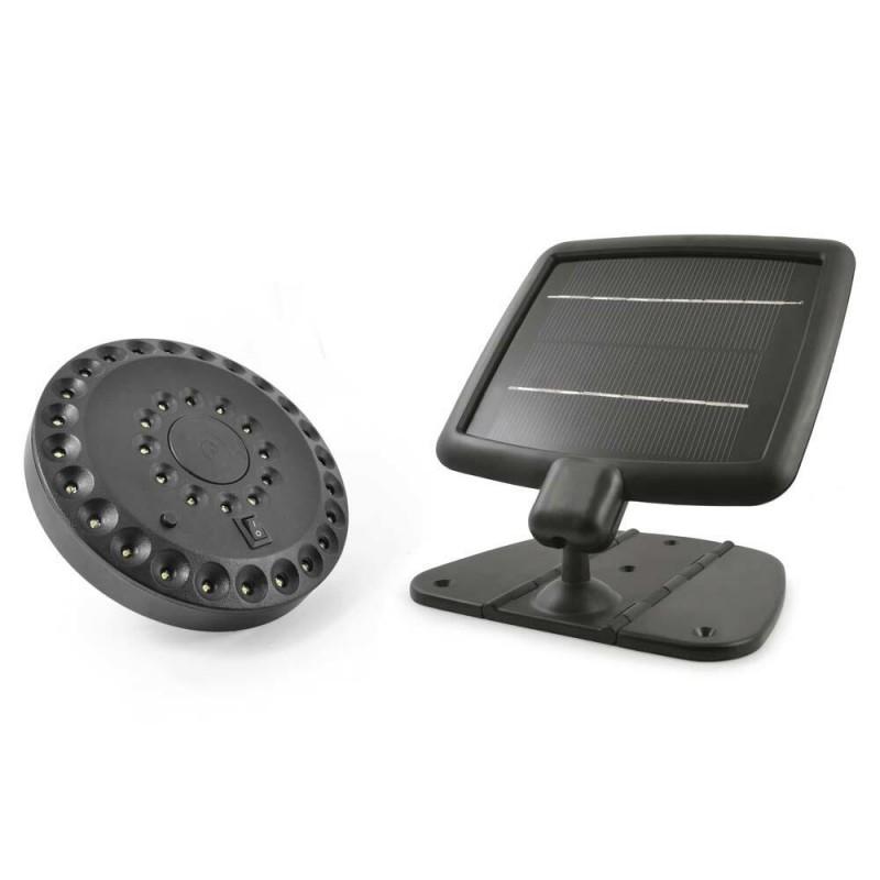 Vortex solcelle belysning til skur