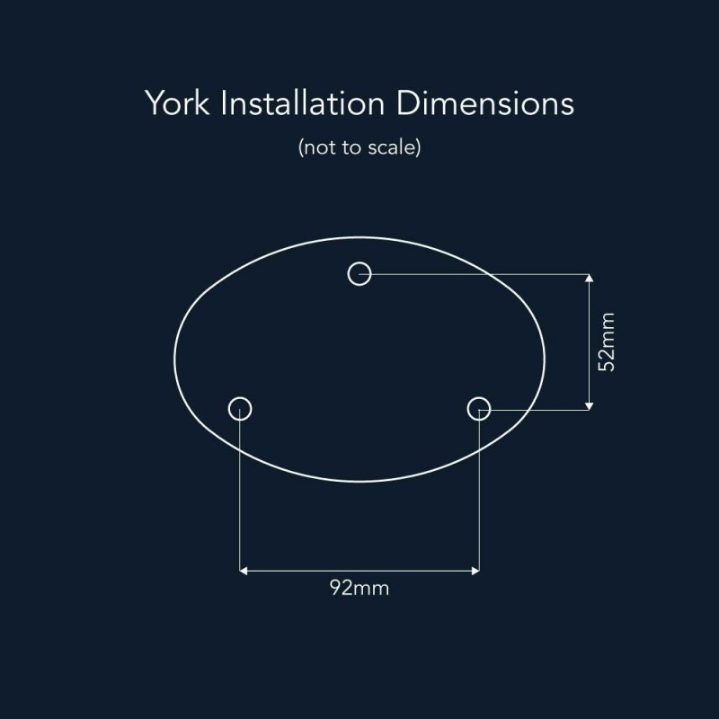 york solcelle lampe