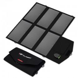 36W solcelleoplader til bærbar/tablet/smartphone fra ALLPOWERS