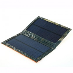 3W kompakt foldbar solcelleoplader