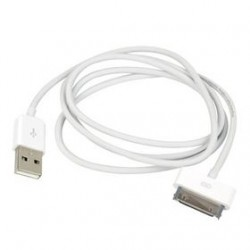1m. Apple 30-bens DATA-kabel