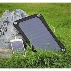 6,5W påhængs solcelleoplader