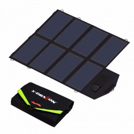 40W solcelleoplader