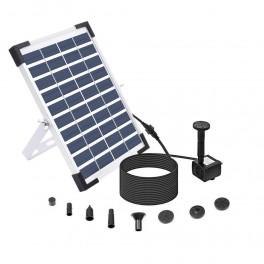 5W solcelle springvand med batterifunktion-20