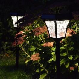 God solcellelampe